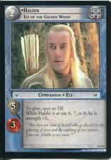 Lord Of The Rings CCG FotR Card 1.U48 Haldir Elf Of The Golden Wood