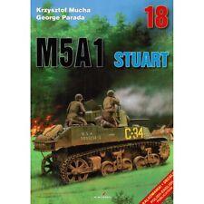 Kagero No18 M5A1 Stuart Modelling book Rare Book