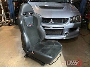 Mitsubishi LANCER EVOLUTION IX REACARO DRIVER SEAT Genuine OEM 7 8 9
