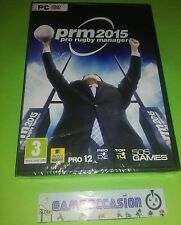 PRM2015 PRO RUGBY MANAGER PC DVD-ROM PAL