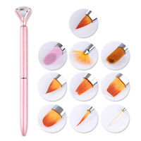 10 In 1 Pinsel Kit Spitzpinsel Nail Art Liner UV Gel Nagel Design Werkzeuge