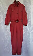 GERMANY-AUTHENTIC BOGNER SPORT ZIPPED WITH HOOD WOMENS SNOW SUIT SIZE:US14/EU42