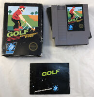 Golf 5 Screw Cart Complete w/ Manual (Nintendo NES, 1985) Tested Works