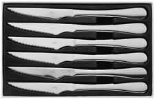 Judge Windsor Set of Six Stainless Steel Steak Knives Boxed 25 Year Guarantee