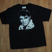 Elvis Presley Paul Mitchel Black T Shirt Size XL Memphis