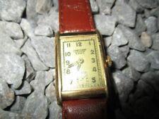 JUNGHANS Vintage Art Deco Tank Armbanduhr Handaufzug 22x38 mm 30er Jahre 1930s