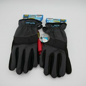 x2 MECHANIX WEAR FASTFIT GLOVES / COLD WEATHER INSULATED ( SIZE LARGE ) MEN'S