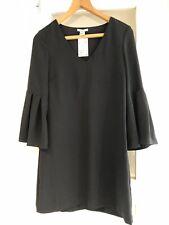H&M Black V Neck Tunic Size 10 BNWT