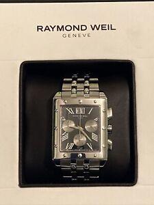 Raymond Weil Tango 4881-ST-00209 Chronograph Men's wristwatch. Box + documents.