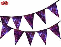 Galaxy Space Stars and Planets Cosmos Universe Bunting Banner 15 Flags Fantasy