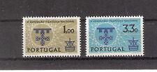 Portugal 1960 5th Natl Philatelic Expo Lisbon Arms Mnh (Sc# 868-869)