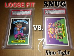 PSA Graded Card Sleeves BAG OF 100, SNUG FIT PSA SKIN TIGHT FOR PSA SLABS #1094