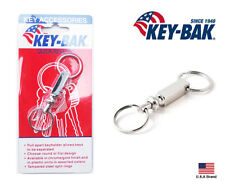 Key-Bak Square Pull-Apart Separate Key Ring