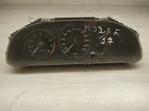 A6 1997 Mazda 323 Compteur de Vitesse Instrument Cluster BC6B55430 69319-220