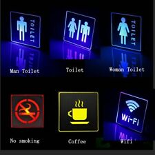 Lights For Bars Wc Lamp Indoor No Smoking Wifi Exit Sign Led Emergency Lamp