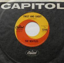 THE BEATLES Twist and Shout Ex CANADA ORIG 1964 (NO DASH) Capitol 72146 45