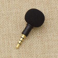 Conector Mini 3.5 mm Grabadora de voz Mic Micrófono para Teléfono celular Teléfono inteligente