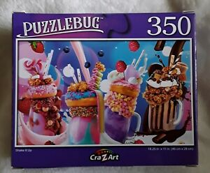 New 350 piece jigsaw puzzle - Puzzlebug (new & sealed) Shake It Up
