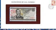 Banknotes of All Nations Luxembourg 50 Francs 1972 P55 Unc Prefix C