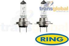 VW,Vauxhall,Ford,BMW,Honda Halogen Dipped Headlight Bulbs x2 12v 55w PX26D RING