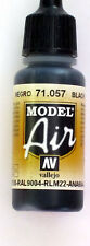 Vallejo Model Air Paint: 17ml  71057 Black