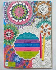 Kreativ Malbuch für Erwachsene - Mandala - 48 Bilder