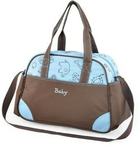 2 PCS Large Baby Diaper Nappy Changing mat Mommy Tote Handbag Bag  US Seller