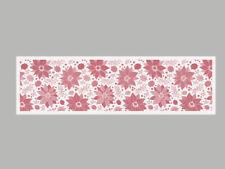 ekelund tischläufer julstjärna / weihnachtsstern 35 x 120 cm 100% bio-baumwolle