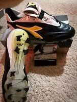 Diadora ATTIVA RTX Kangaroo Leather UK 10.5 US 11 soccer cleats football boots