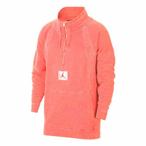 Nike Jordan Mens JSW Wings Washed half zip Pullover 939954 879 SIZE XL New w tag