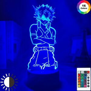 Katsuki Bakugo Academia My Hero ANIME 3D led Night Light/Desk Lamp BNHA Figure !
