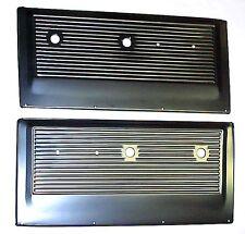 1967 1968 1969 1970 1971 Door Panels -Metal Black Chevrolet Chevy GMC Truck PAIR