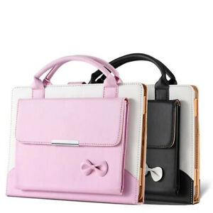 For Apple iPad 8th generation 10.2 2020 Smart Leather Handbag Wallet Case Cover