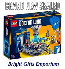 LEGO 21304 Doctor Who Dr Who Dalek Police Box SEALED BRAND NEW