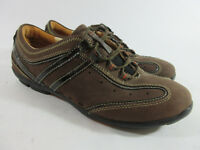 Clarks Unstructured Un.Durga Brown Nubuck Leather Shoes Sneakers Womens Size 7 M
