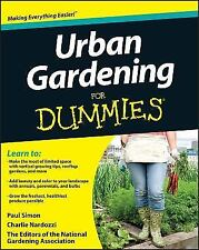Urban Gardening for Dummies by National Gardening Association Staff and...