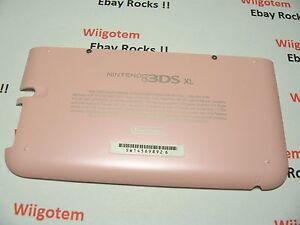 Nintendo 3DS XL Housing Back/Bottom Battery Cover /Screws Pink Shell Repair Part