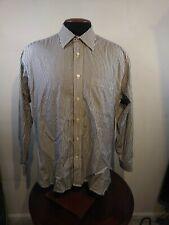 Hart Schaffner Marx Men/'s Dusty Pink Stripe S//S Collar Button-down Shirt NWT