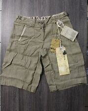 NEW Da-Nang Surplus Indo-Chine Bermuda Shorts in Pinstriped LS81982 X-SMALL XS