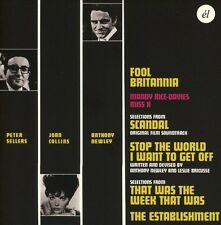 Anthony Newley / Pet - Fool Britannia / Scandal / Stop The World I Want [New CD]