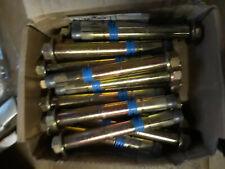 25 St/ück LSB M8 8x80mm Schwerlastd/übel Schwerlastanker Bolzenanker verzinkt Stalco