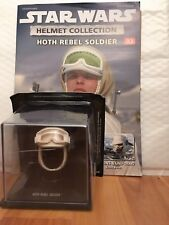 STAR WARS DEAGOSTINI REPLICA HELMET COLLECTION ISSUE 32 HOTH REBEL SOLDIER + MAG