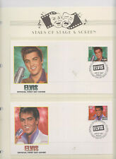 ELVIS FIRST DAY COVER STAMPS