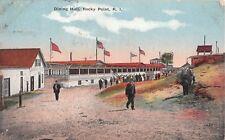 c.1910 Dining Hall Amusement Park Rocky Point RI post card