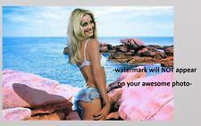 Sexy Sharon Tate Bikini PHOTO Gorgeous Hot Perky Blonde Beach Babe