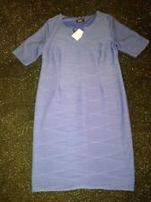 KALEIDOSCOPE BLUE DRESS...NEW...SIZE 18