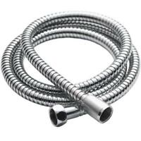 STAINLESS STEEL 1.5M CHROME FLEXIBLE BATHROOM BATH SHOWER HEAD HOSE PIPE WASHERS
