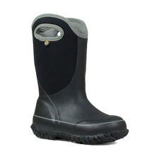 Bogs Wellington Boots Boys Kids Slushie Solid Insulated -20 Waterproof Neoprene