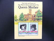 TUVALU Nanumaga Wholesale 1985 Queen Mother M/Sheet x 50 U/M SALE PRICE FP1195
