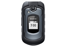 Kyocera DuraXE E4710 Black 8GB 4G LTE GSM Unlocked Rugged Flip Cell Phone